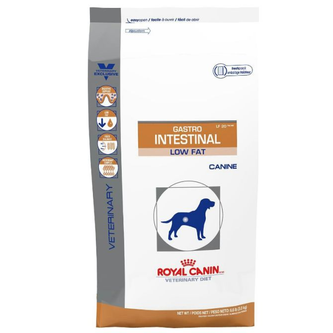royal canin vet dog diet gastro intestinal low fat lf22. Black Bedroom Furniture Sets. Home Design Ideas